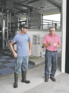 New milking center pays dividends