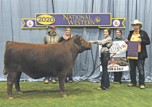 Chaney wins Grand Champion CAC in Denver