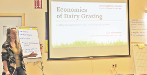 Linking dollars to dairy grazing decisions