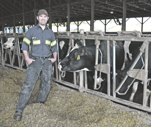 Vermont dairy farm counts on two enterprises