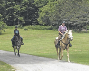 Back in the saddle again for the Brookfield Trail Ride