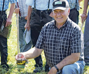 Capturing rain is a full-time job for grazing dairies